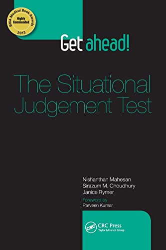 Get Ahead! The Situational Judgement Test: Nishanthan Mahesan