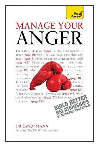 9781444176780: Manage Your Anger (Teach Yourself)