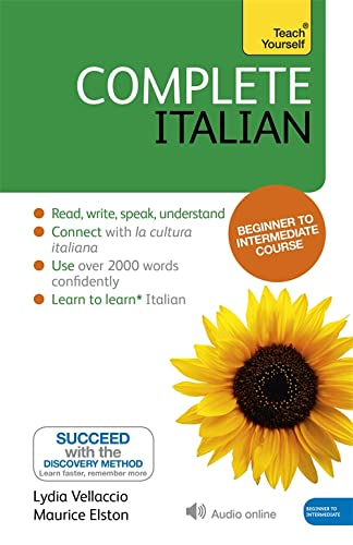 9781444177312: Complete Italian (Learn Italian with Teach Yourself): Book: New edition
