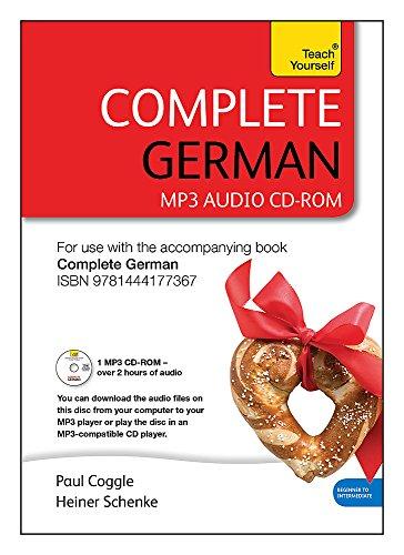 9781444177404: Complete German (Learn German with Teach Yourself): MP3 CD-ROM: New edition (Teach Yourself Complete)