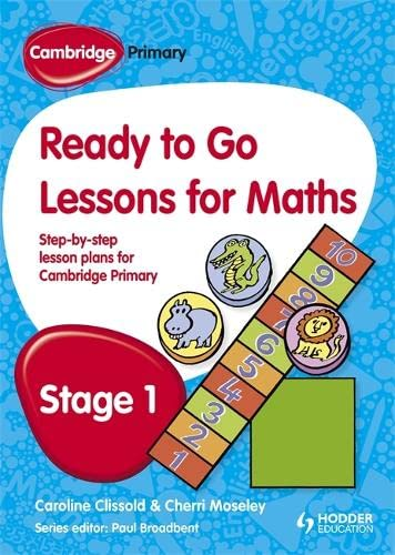 9781444177602: Cambridge Primary Ready to Go Lessons for Mathematics Stage 1