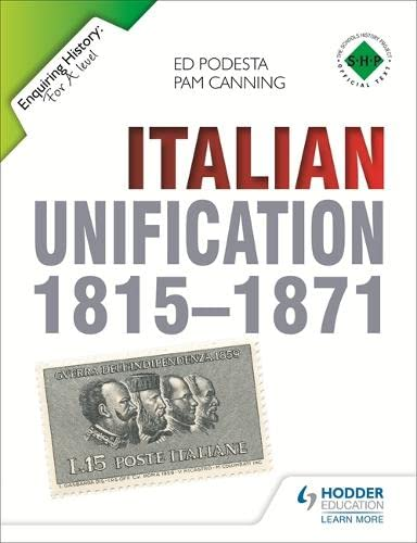 9781444178746: Italian Unification 1815-1871 (Enquiring History)