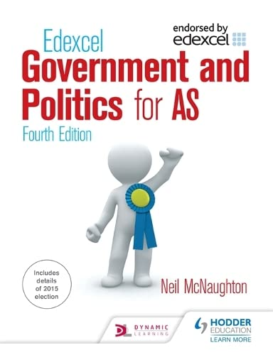 9781444178807: Edexcel Government and Politics for As. Neil McNaughton