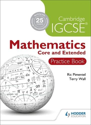9781444180466: Cambridge IGCSE Mathematics: Core & Extened Practice Book