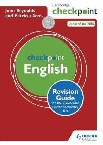 9781444180725: Cambridge Checkpoint English Revision Guide for the Cambridge Secondary 1 Test (Cambridge Checkpoints)