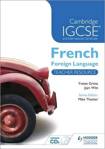 Cambridge IGCSE & International Certificate French Foreign Language (Cambridge Igcse Modern ...