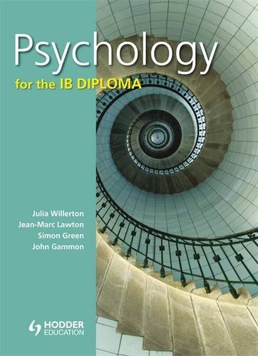 Psychology for the IB Diploma Lawton, Jean-Marc;