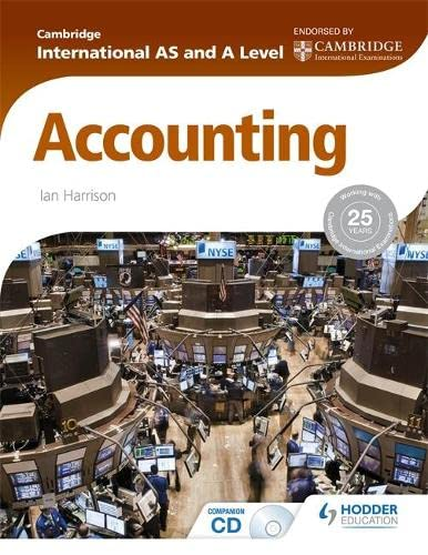9781444181432: Cambridge International AS and A Level Accounting