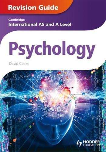 Cambridge International AS and A Level Psychology Revision Guide: Clarke, David