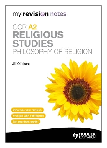 9781444182583: My Revision Notes: OCR A2 Religious Studies: Philosophy of Religion