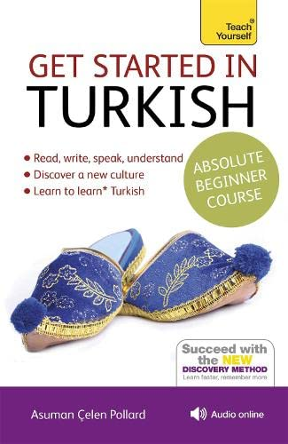 9781444183207: Get Started in Turkish Absolute Beginner Course: (Book and audio support) (Teach Yourself Get Started)