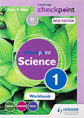 Cambridge Checkpoint Science Workbook 1: Peter Riley