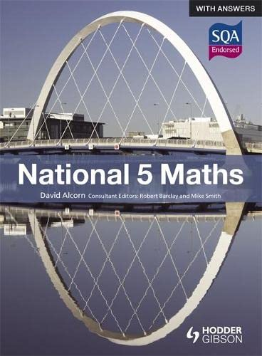 National 5 Maths with Answers: Alcorn, David
