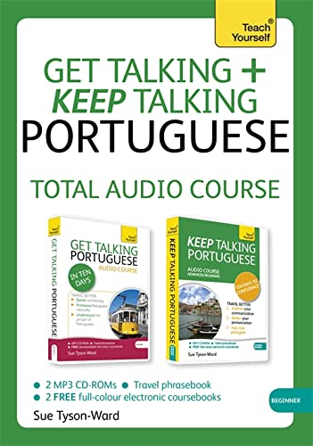 9781444185492: Get Talking and Keep Talking Portuguese Total Audio Course: (Audio pack) The essential short course for speaking and understanding with confidence (Teach Yourself: Get Talking + Keep Talking)