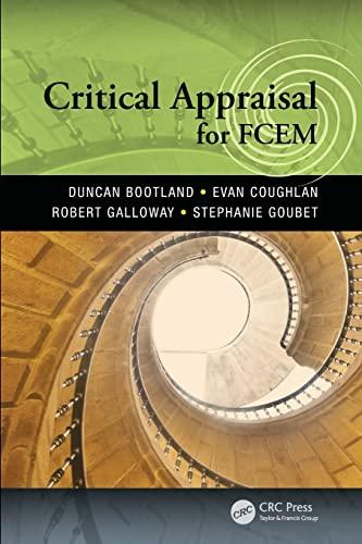 9781444186482: Critical Appraisal for FCEM