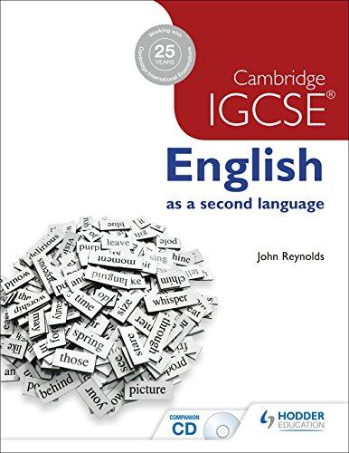 9781444191622: Cambridge IGCSE english as a second language. Con CD. Per le Scuole superiori