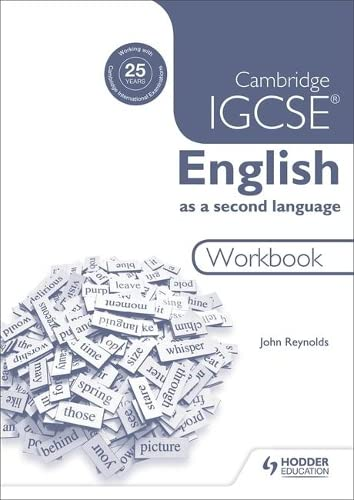9781444191646: Cambridge IGCSE English as a second language workbook