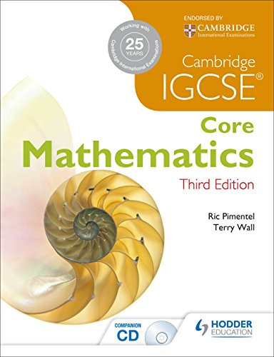 IGCSE Core Mathematics 3ed + CD (9781444191721) by Terry Wall; Ric Pimentel