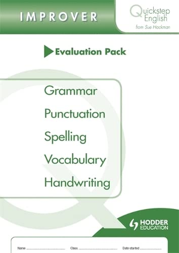 9781444195453: Quickstep English Improver Stage Evaluation Pack