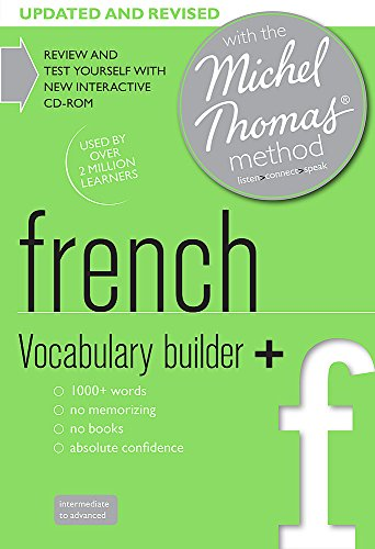 French Vocabulary Builder+: with the Michel Thomas Method (Michael Thomas Method): Lewis, H�l�ne