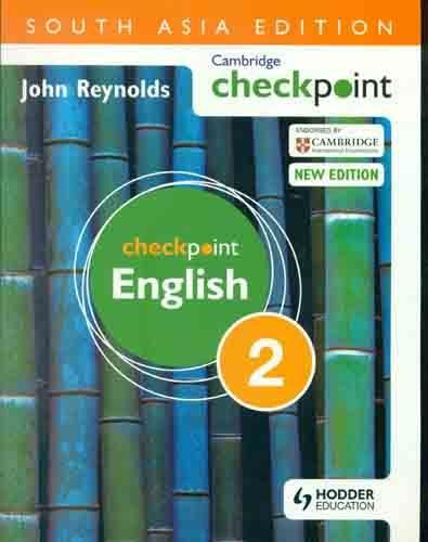 Cambridge Checkpoint English, 2 (New Edition): John Reynolds