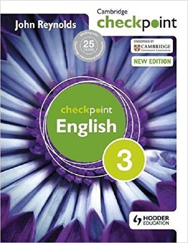 Cambridge Checkpoint English-3 (South Asia Edition): John Reynolds