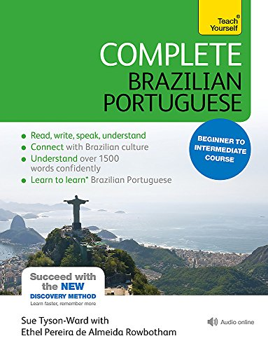 9781444198447: Complete Brazilian Portuguese: Beginner to Intermediate Course (Teach Yourself Book & CD)