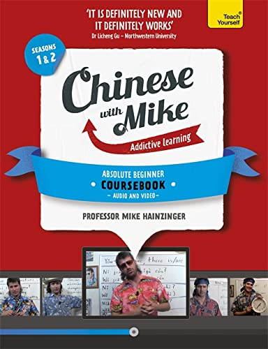 9781444198577: Learn Chinese with Mike Absolute Beginner Coursebook Seasons 1 & 2