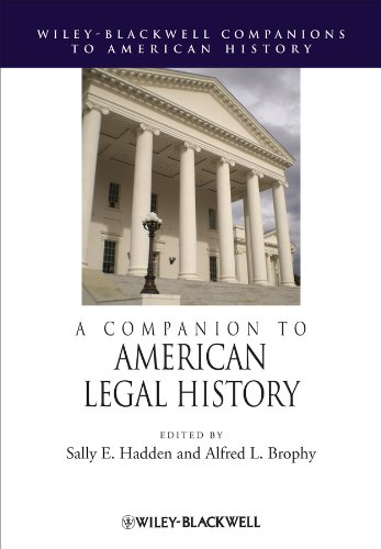 9781444331424: A Companion to American Legal History