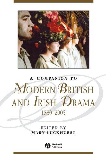 9781444332049: A Companion to Modern British and Irish Drama: 1880 - 2005