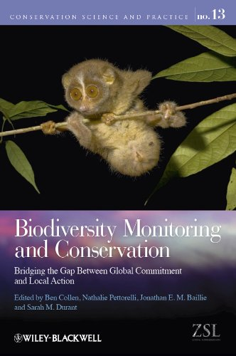 9781444332919: Biodiversity Monitoring and Conservation: Bridging the Gap Between Global Commitment and Local Action