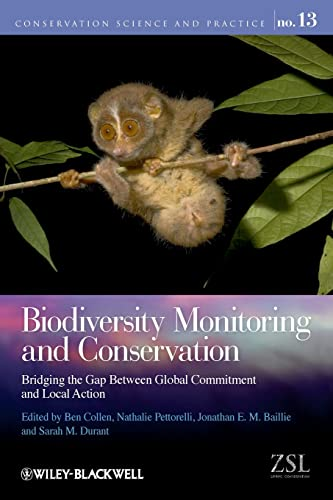 9781444332926: Biodiversity Monitoring and Conservation: Bridging the Gap Between Global Commitment and Local Action