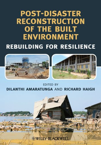 9781444333565: Post-Disaster Reconstruction of the Built Environment: Rebuilding for Resilience