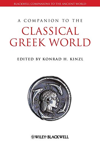 9781444334128: Companion Classical Greek Worl (Blackwell Companions to the Ancient World)