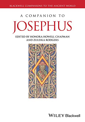 9781444335330: A Companion to Josephus (Blackwell Companions to the Ancient World)