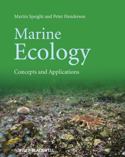 Marine Ecology: Concepts and Applications: Speight, Martin R.; Henderson, P. A.; Henderson, Peter A...