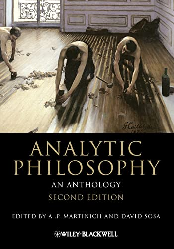 9781444335705: Analytic Philosophy: An Anthology (Blackwell Philosophy Anthologies)