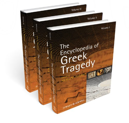9781444335927: The Encyclopedia of Greek Tragedy