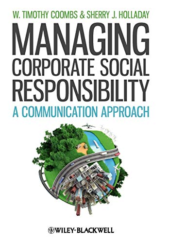 9781444336290: Managing Corporate Social Responsibility: A Communication Approach