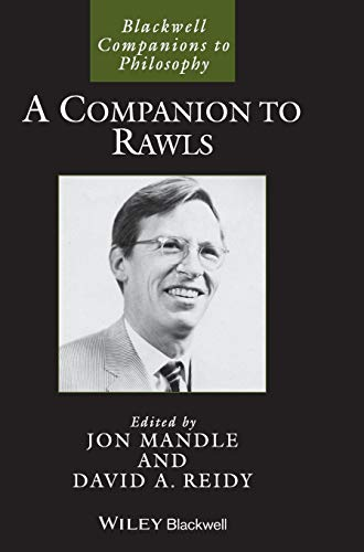 9781444337105: A Companion to Rawls