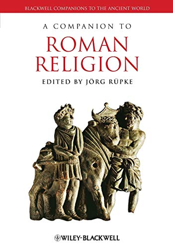 9781444339246: A Companion to Roman Religion