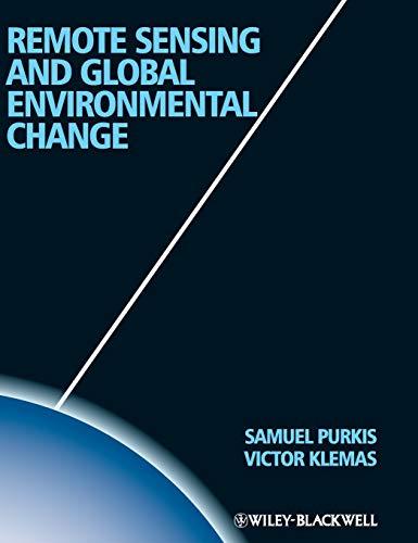 9781444339352: Remote Sensing and Global Environmental Change