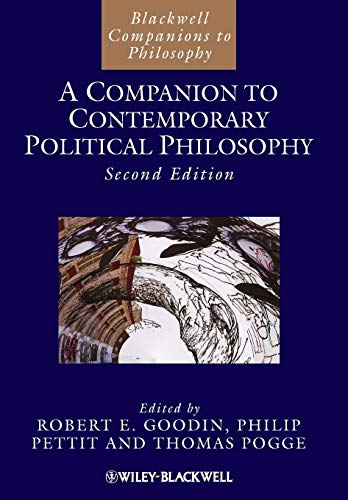 9781444350876: Companion to Contemporary Political 2e (Blackwell Companions to Philosophy)