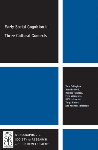 9781444361483: Early Social Cognition in Three Cultural Contexts (Monographs of the Society for Research in Child Development)