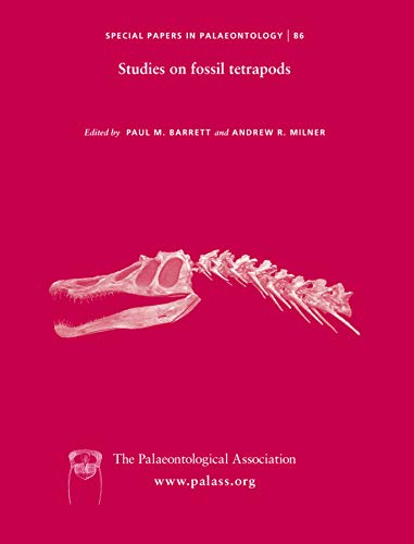 9781444361896: Special Papers in Palaeontology, Studies on Fossil Tetrapods