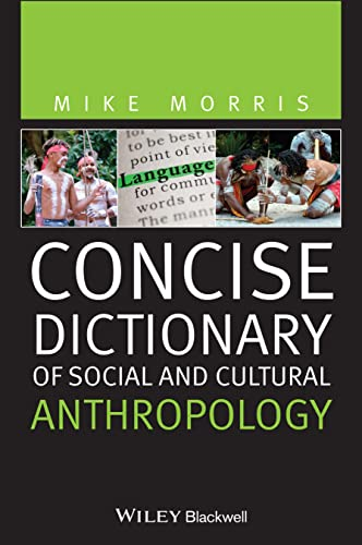 9781444366983: Concise Dictionary of Social and Cultural Anthropology