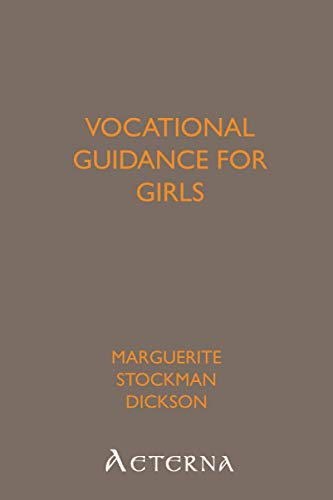 9781444410495: Vocational Guidance for Girls