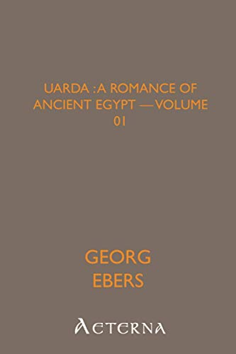 9781444425765: Uarda : a Romance of Ancient Egypt - Volume 01
