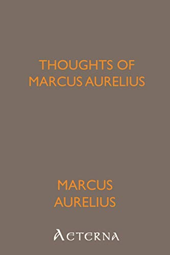 9781444435023: Thoughts of Marcus Aurelius