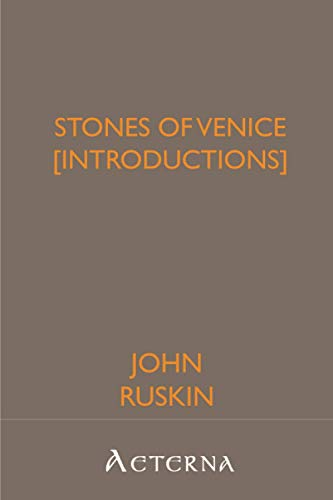 9781444448856: Stones of Venice [introductions]